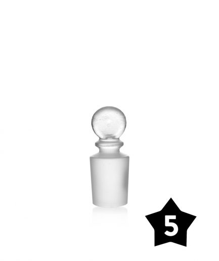 19mm GRAV® Glass Cleaning Plug - Clear - Pack of 5