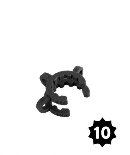 19mm Plastic Joint Clamp - Assorted Colors - Pack of 10