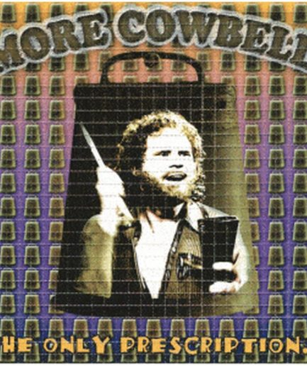 """More Cowbell!"" Blotter Art"