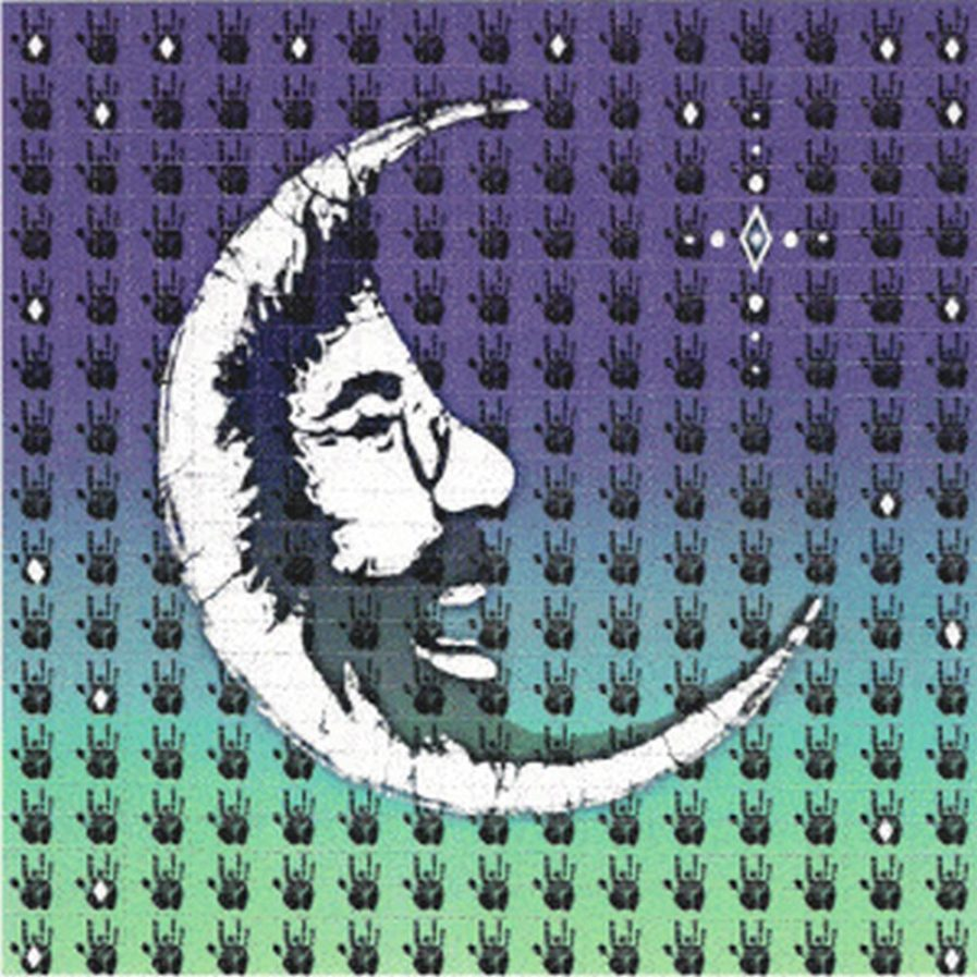 Jerry Moon Blotter Art