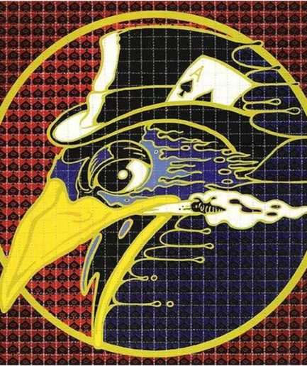 "Richard Biffle ""Raven"" Blotter Art"
